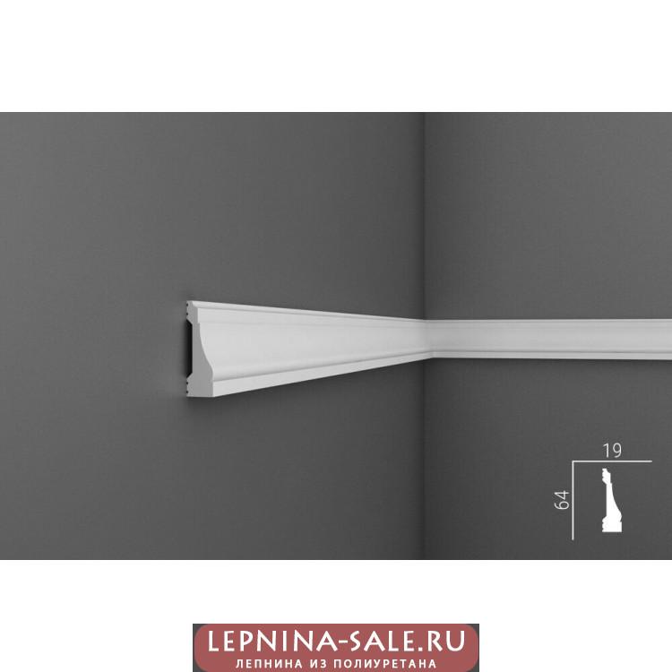 MX016, Молдинг 64х19, экополимер Lepnina-Sale.ru