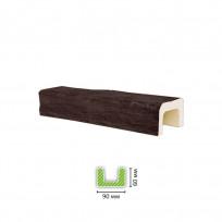 EQ 701 (3 м, темная) Балка декоративная Lepnina-Sale.ru