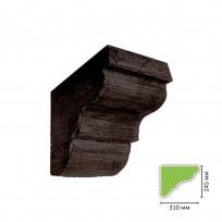 ED-C 502 (темная) Консоль для балки ED 502 Lepnina-Sale.ru