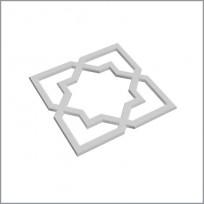 A 714 Орнамент (компл.- 2шт) Lepnina-Sale.ru
