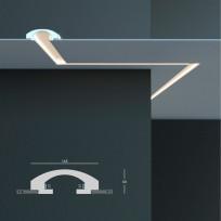 Tesori KD 112 - встраиваемый потолочный молдинг для подсветки Lepnina-Sale.ru
