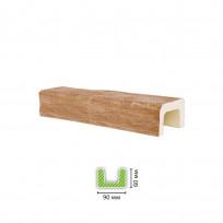 EQ 701 (3 м, светлая) Балка декоративная Lepnina-Sale.ru