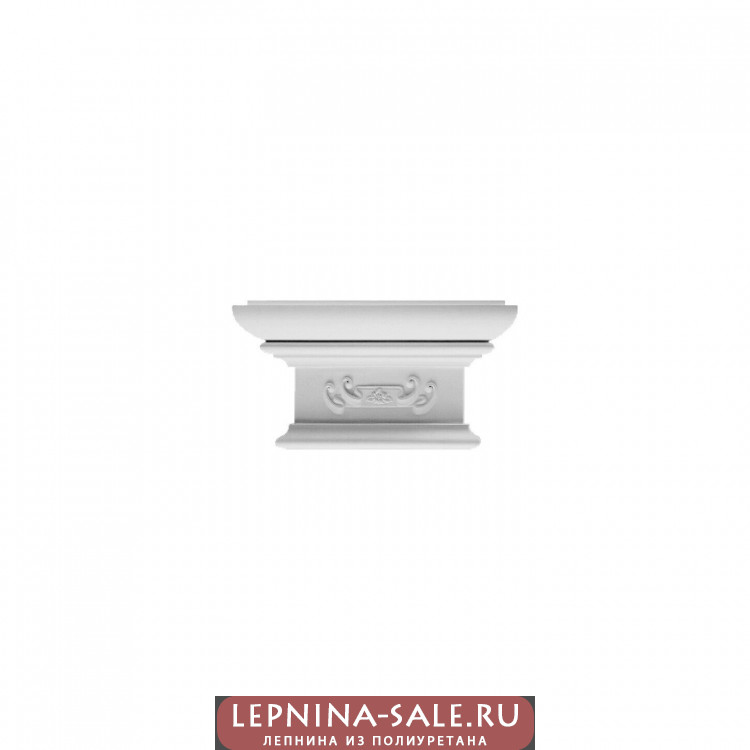 PL 564 (капитель) (U) Пилястра Lepnina-Sale.ru