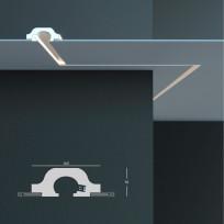 Tesori KD 119 - встраиваемый потолочный молдинг для подсветки Lepnina-Sale.ru