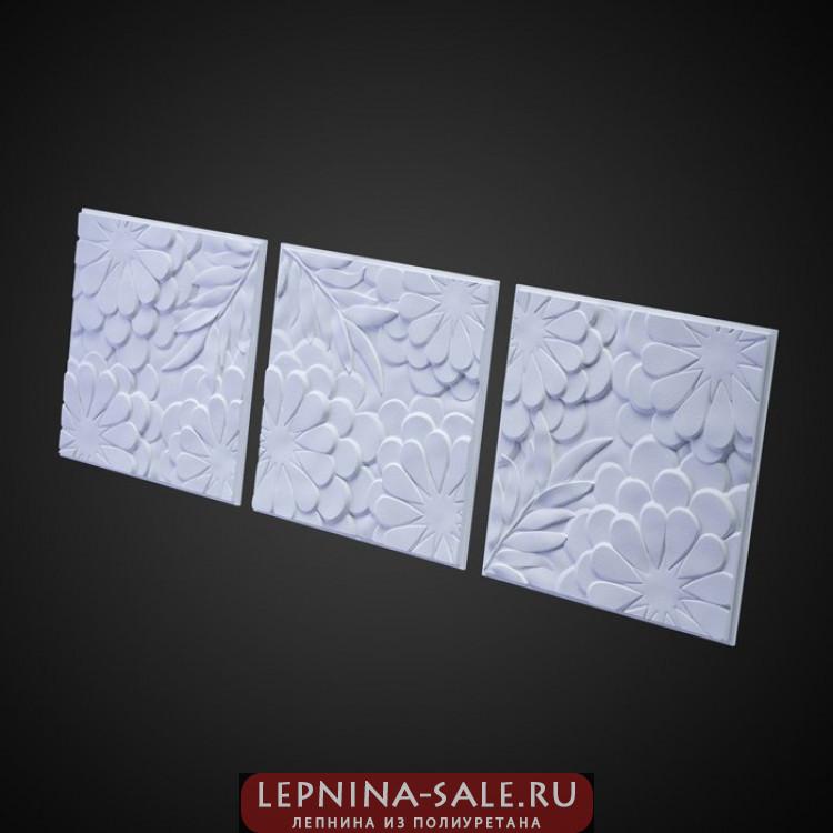 3D Панель Панно Flora P3 M-0042 Artpole Lepnina-Sale.ru