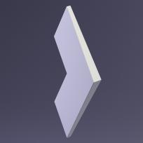 3D Панель NORD platinum E-0047 Artpole Lepnina-Sale.ru