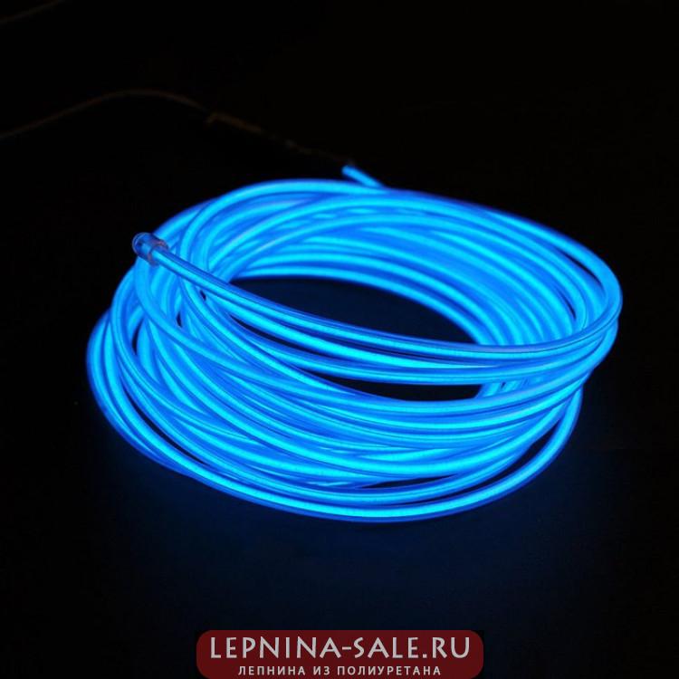 3D Панель Комплект 10м гибкий неоновый шнур цвет бирюзовый + блок питания 20-50м 005490 Artpole Lepnina-Sale.ru