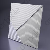 3D Панель FIELDS 2 platinum D-0008-2-pl Artpole Lepnina-Sale.ru
