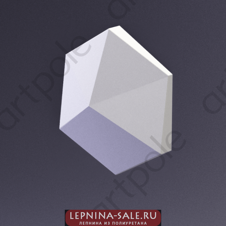 3D Панель CUBE-Ex1 E-0030-1 Artpole Lepnina-Sale.ru