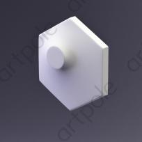 3D Панель Elementary HEKSA-dots E-0006 Artpole Lepnina-Sale.ru
