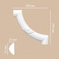 Угловой элемент 98020-2 Decomaster Lepnina-Sale.ru
