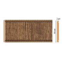 Панель С10-3  (размер 100х7х2400) цветная лепнина в интерьере Decomaster Lepnina-Sale.ru