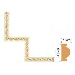 Декоративный угловой элемент Decomaster 157-1-5 (300*300)