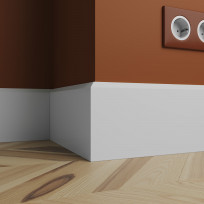 Плинтус Ultrawood арт. Base 0023 (2440 x 120 x 12 мм.)