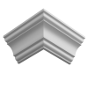 Карниз Ultrawood арт. CR 0018 (2440 х 76 х 76) Lepnina-Sale.ru