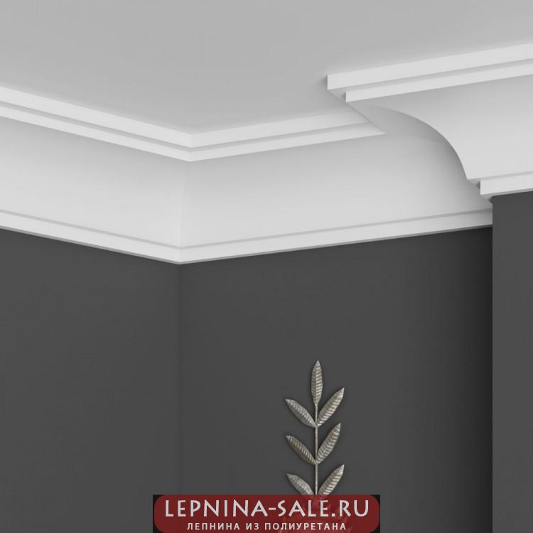 Карниз Ultrawood арт. CR 2340 NEW(2440 х 72 х 90) Lepnina-Sale.ru