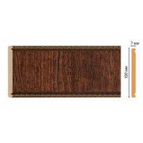 Панель С10-2  (размер 100х7х2400) цветная лепнина в интерьере Decomaster Lepnina-Sale.ru