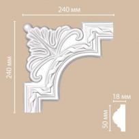 Угловой элемент 98061-1 Decomaster Lepnina-Sale.ru