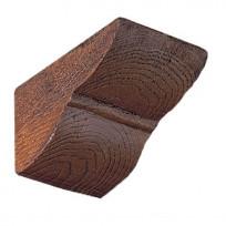 консоль Рустик (дуб темный) под балки 200*130мм и 190*170мм Lepnina-Sale.ru