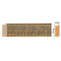 Профиль 109-17 (размер 40х10х2400) цветная лепнина в интерьере Decomaster Lepnina-Sale.ru