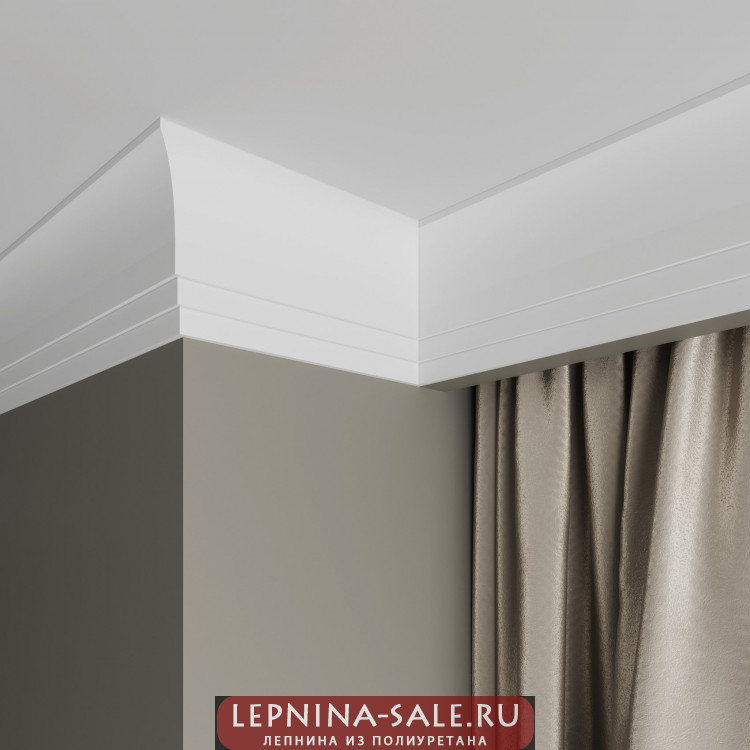 Карниз Ultrawood арт. CR 0026 (2440 х 87 х 25) Lepnina-Sale.ru